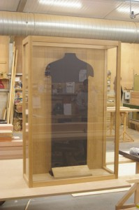 Display cabinet - prior to final fitting