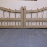 Pair of Gates - semi-dried Oak