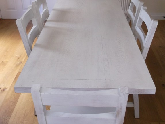 oak dining set 3